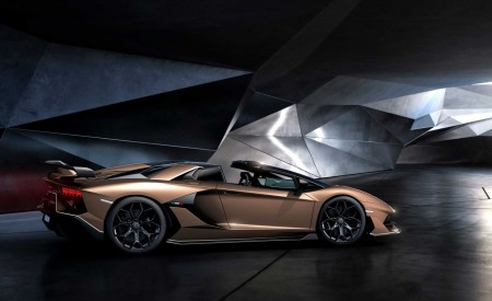 2020 Lamborghini Aventador SVJ Roadster Side Wallpaper 450x275 (15)