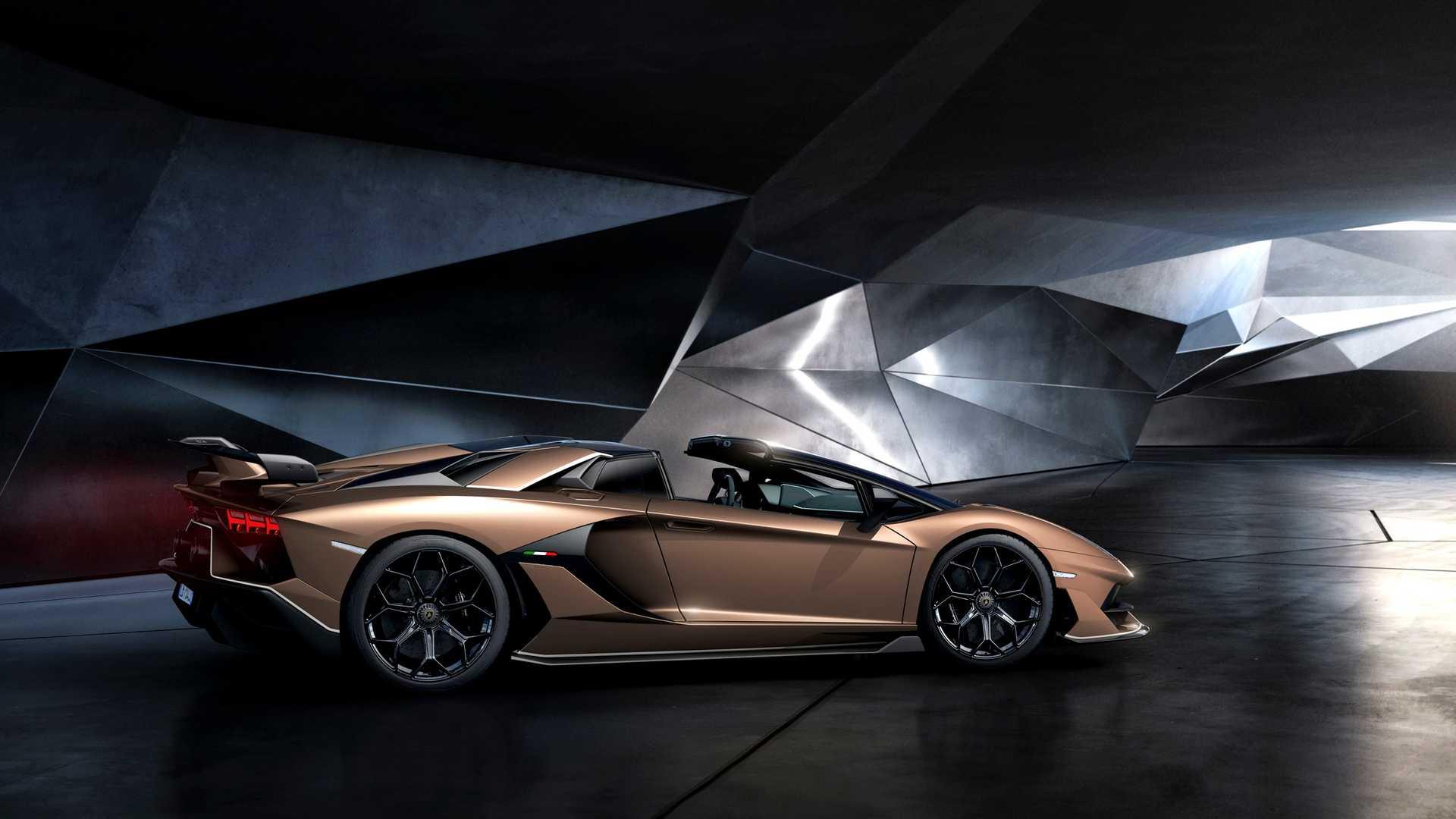 2020 Lamborghini Aventador SVJ Roadster Side Wallpaper (15)