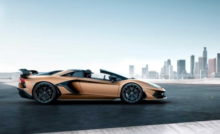 2020 Lamborghini Aventador SVJ Roadster Side Wallpaper 450x275 (2)