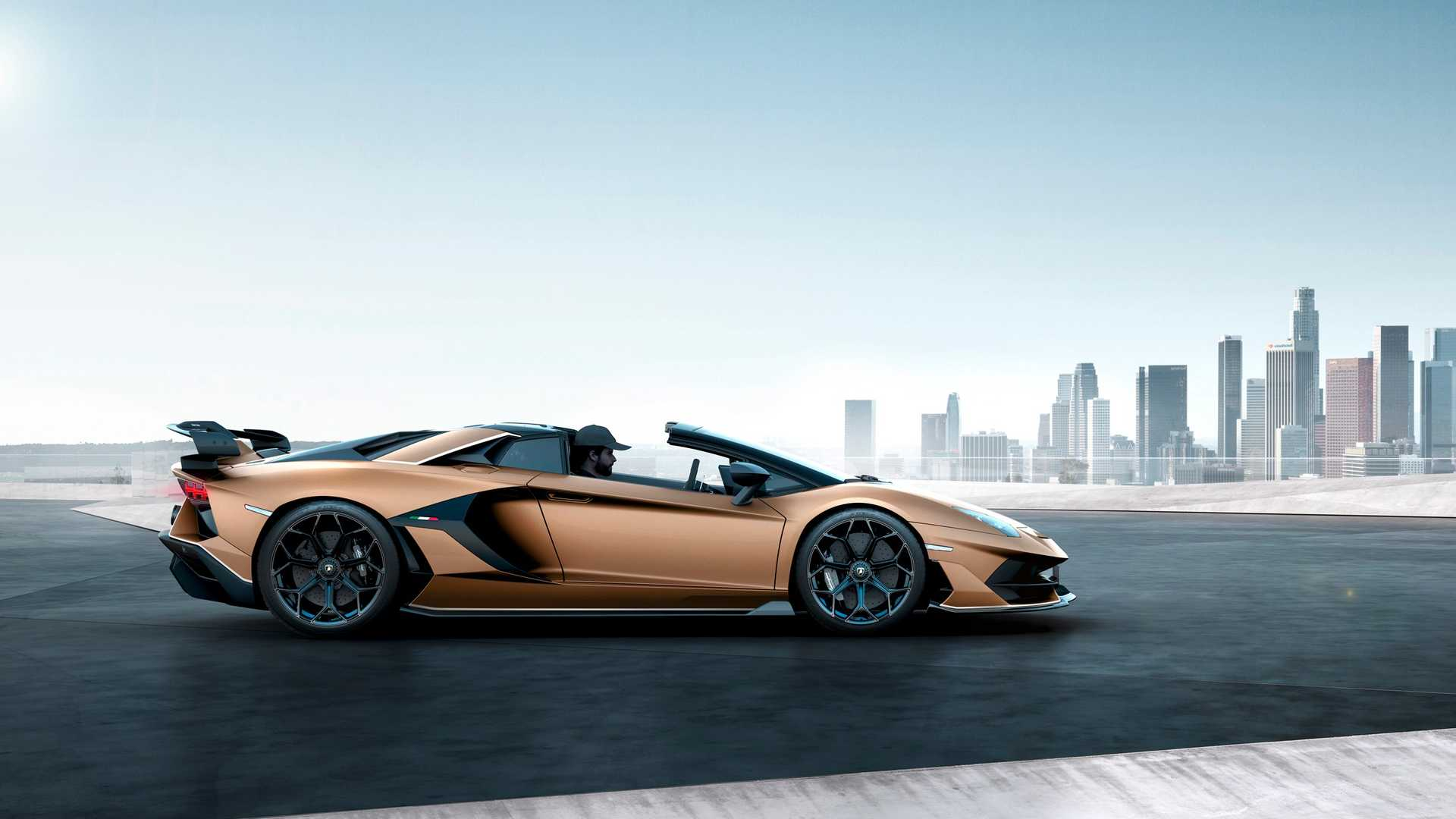 2020 Lamborghini Aventador SVJ Roadster Side Wallpapers (2)