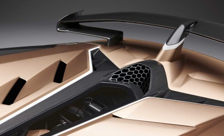 2020 Lamborghini Aventador SVJ Roadster Spoiler Wallpaper 450x275 (22)