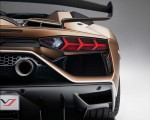 2020 Lamborghini Aventador SVJ Roadster Tail Light Wallpapers 150x120 (21)