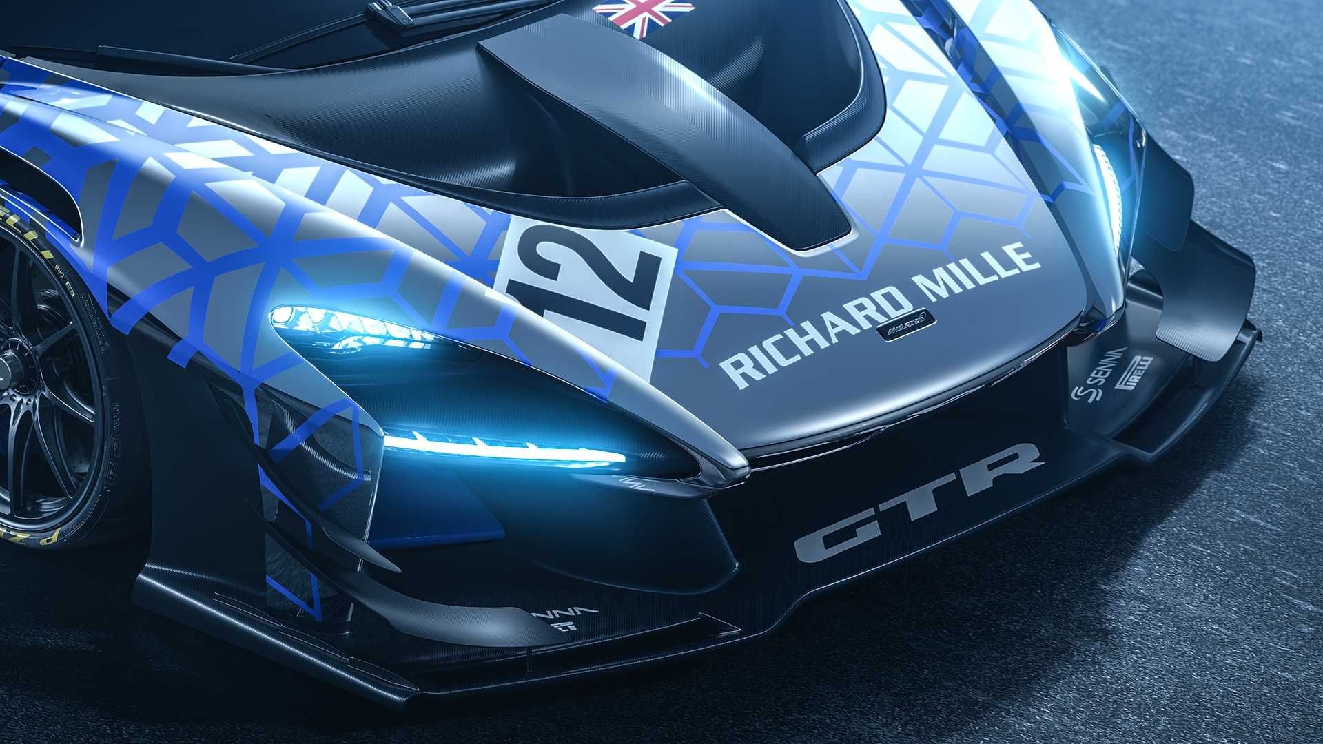 2020 McLaren Senna GTR Headlight Wallpapers (7)