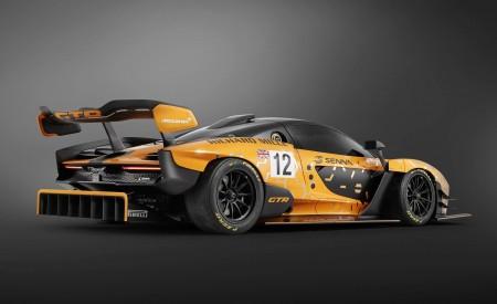 2020 McLaren Senna GTR Rear Three-Quarter Wallpapers 450x275 (10)