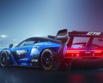 2020 McLaren Senna GTR Rear Three-Quarter Wallpapers 150x120 (2)