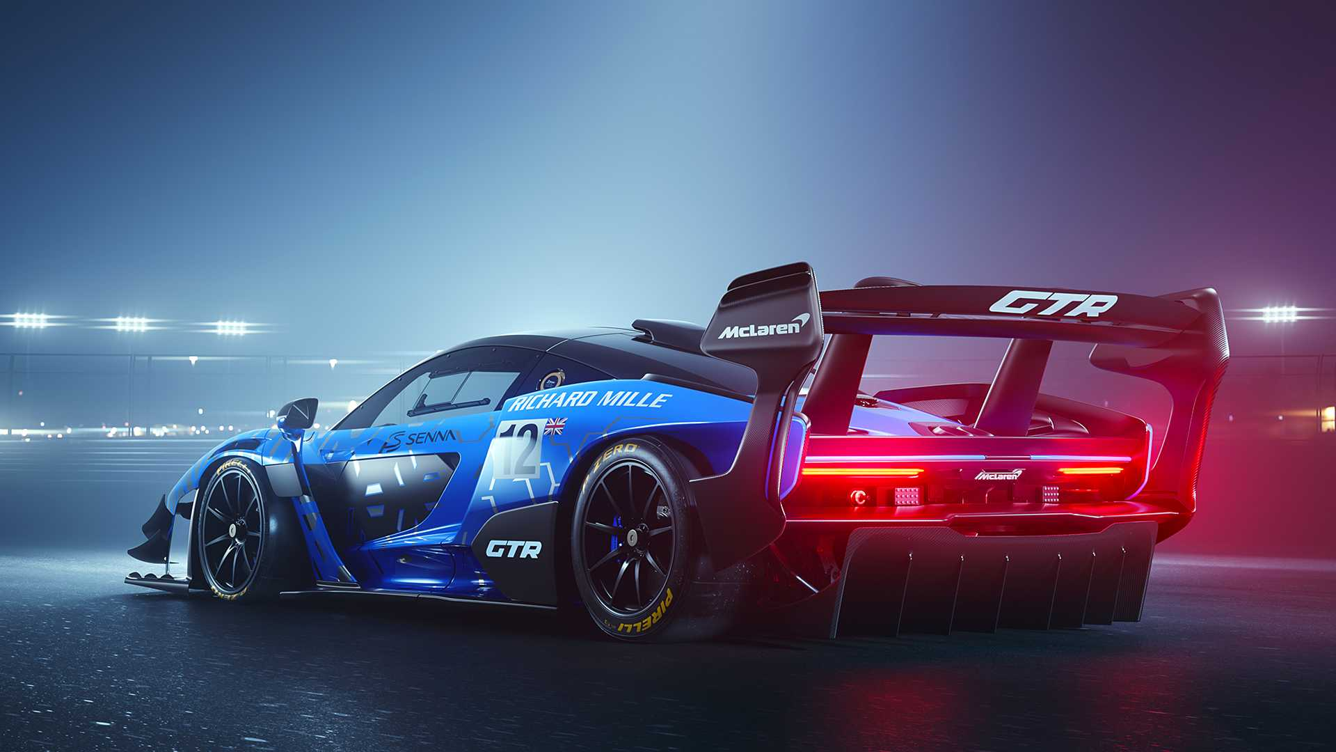 2020 McLaren Senna GTR Rear Three-Quarter Wallpapers (2)