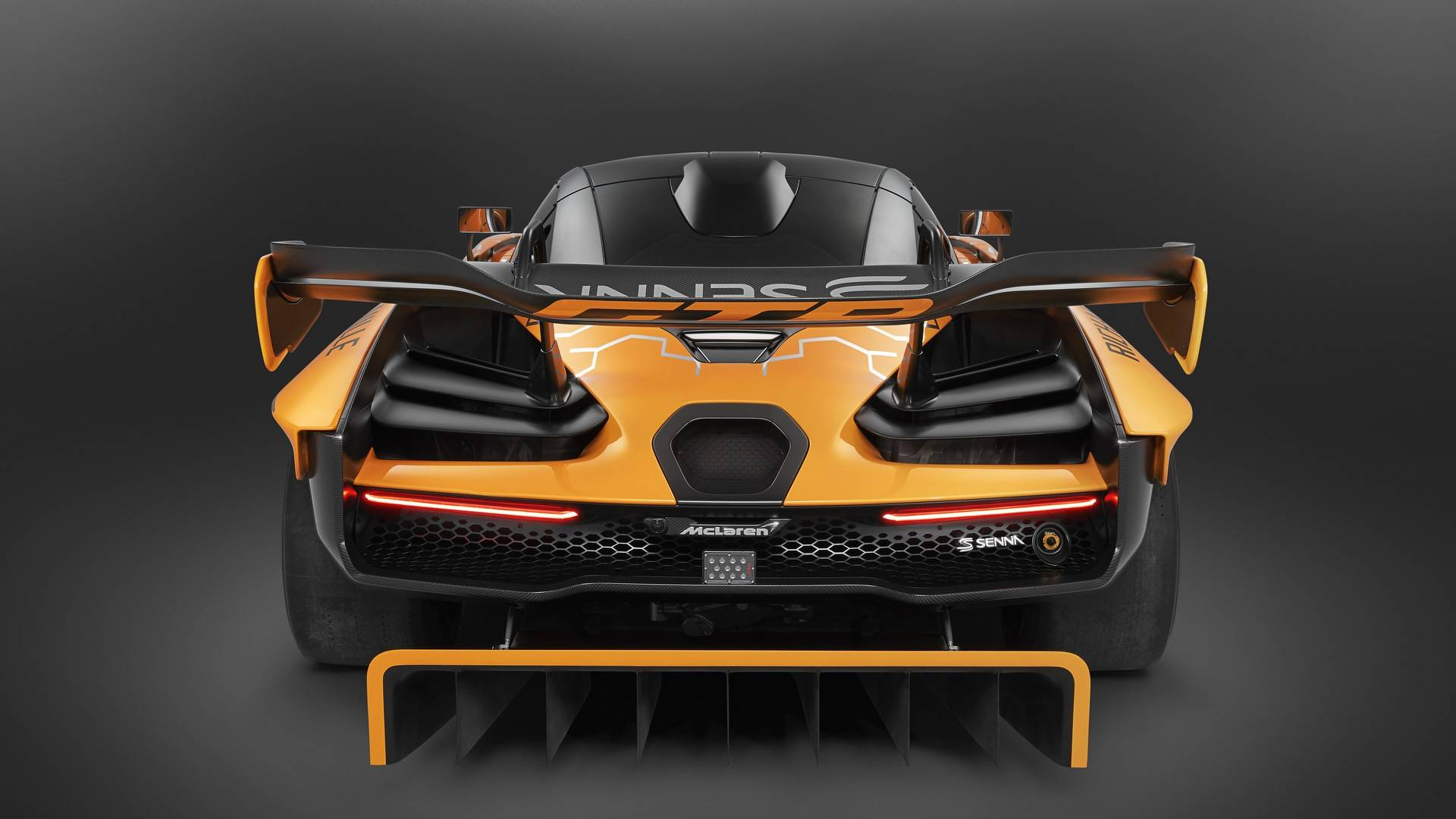 2020 McLaren Senna GTR Rear Wallpapers (11)