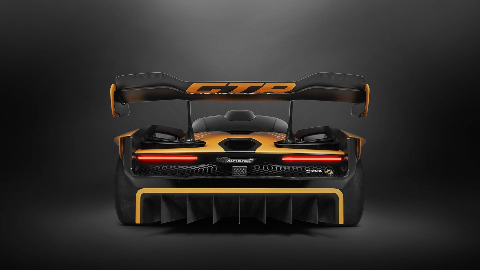 2020 McLaren Senna GTR Rear Wallpapers (12)