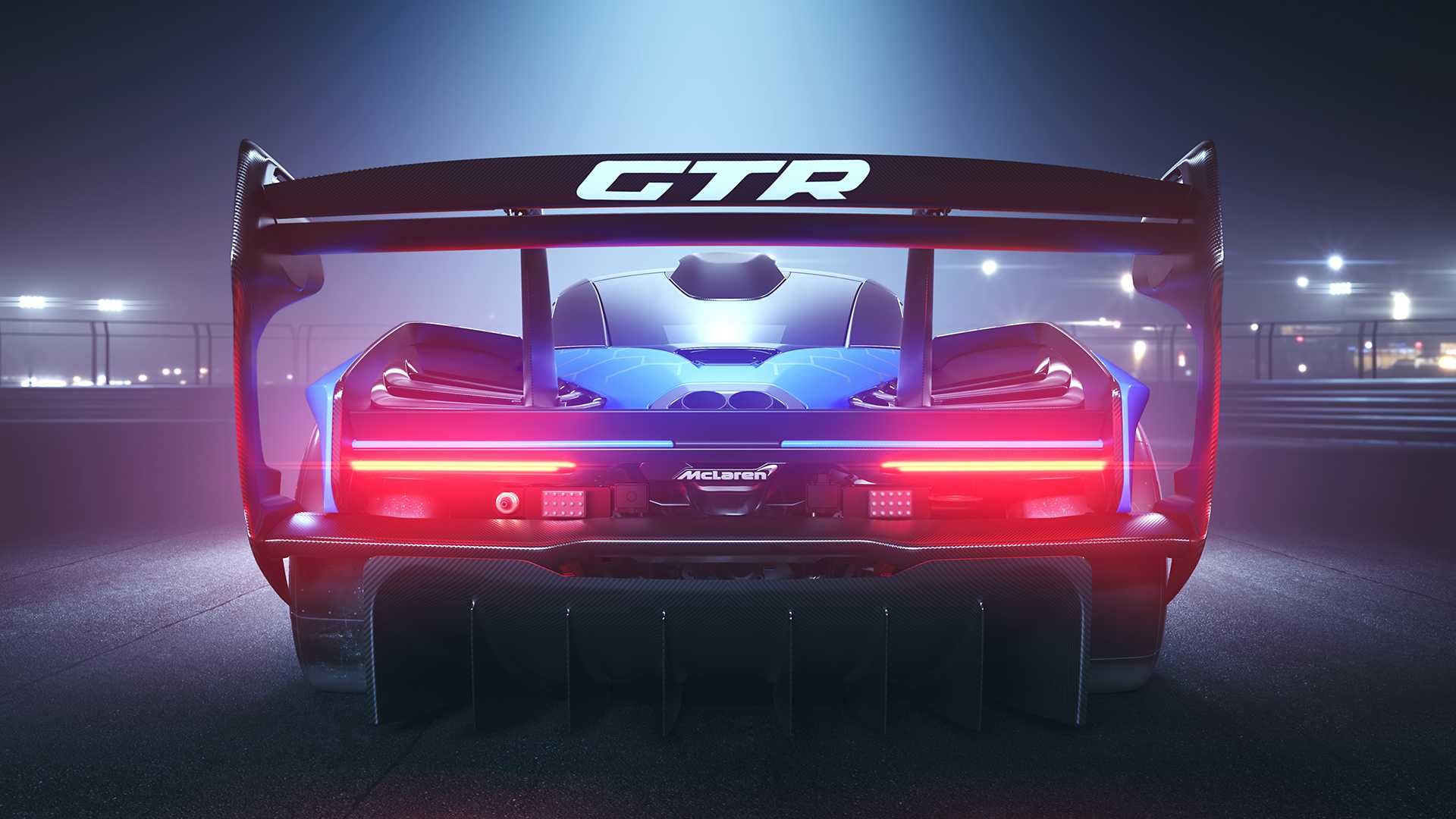 2020 McLaren Senna GTR Rear Wallpapers (3)