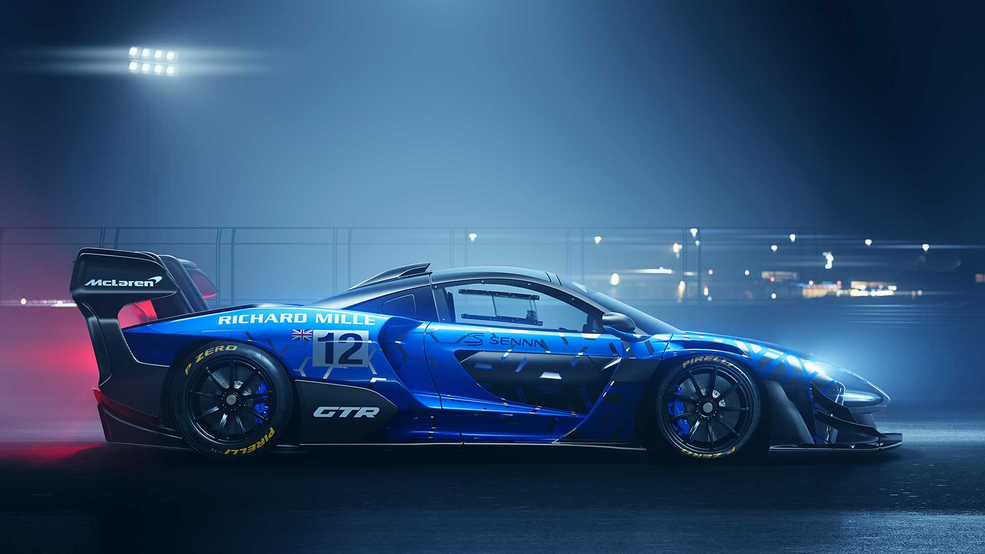 2020 McLaren Senna GTR Side Wallpapers (4)
