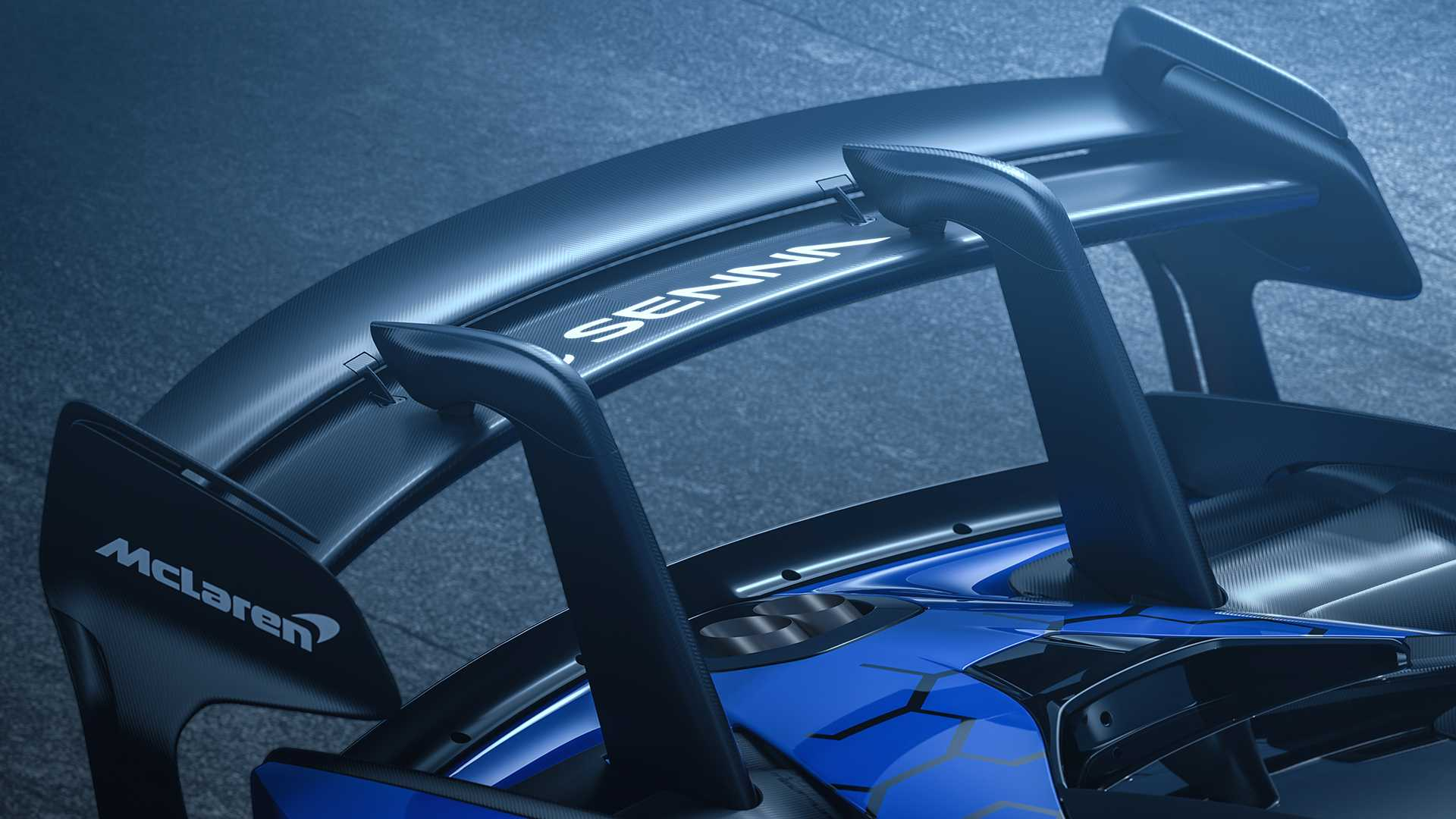 2020 McLaren Senna GTR Spoiler Wallpapers (8)