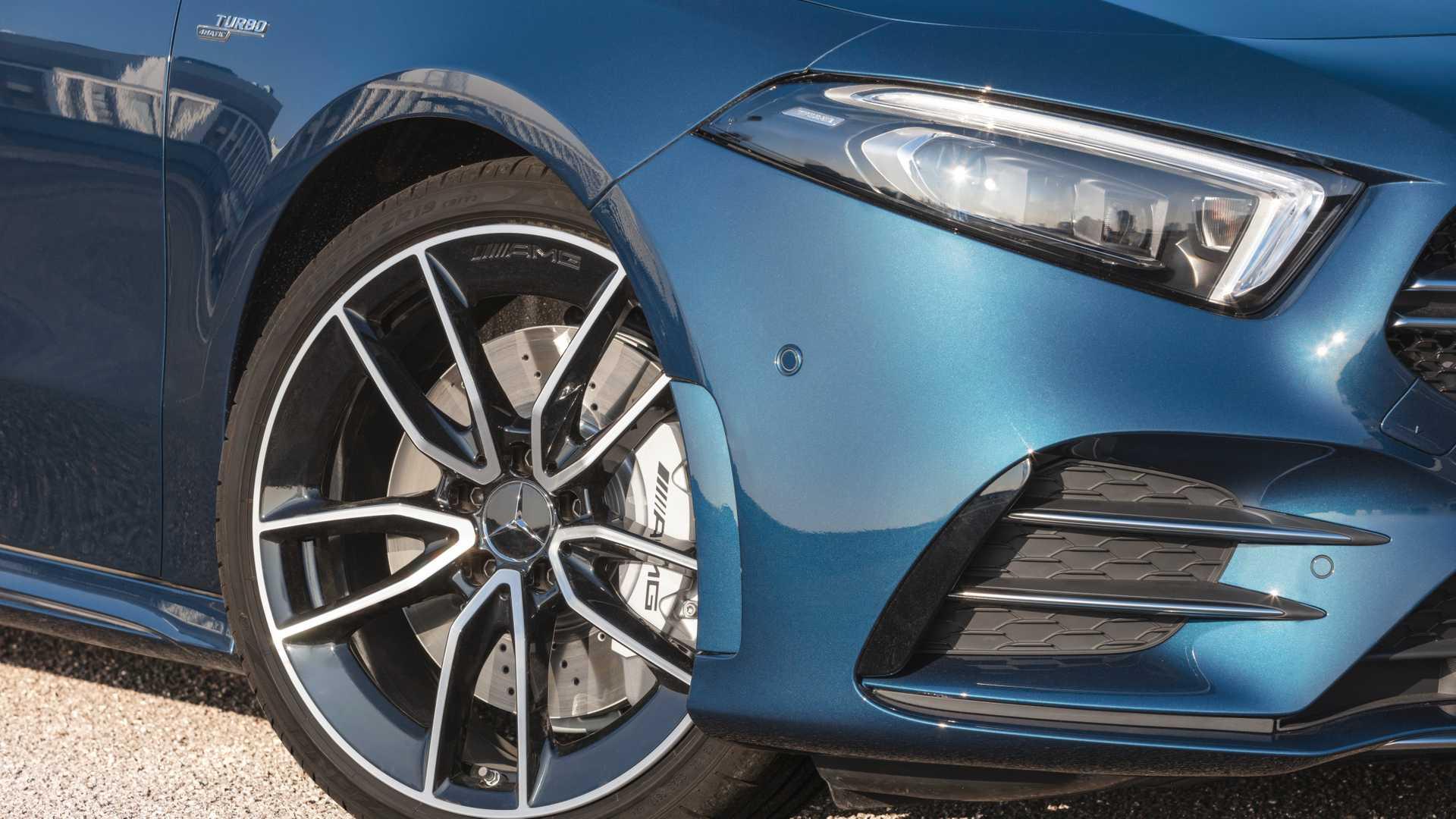 2020 Mercedes-AMG A 35 Sedan Wheel Wallpaper (15)