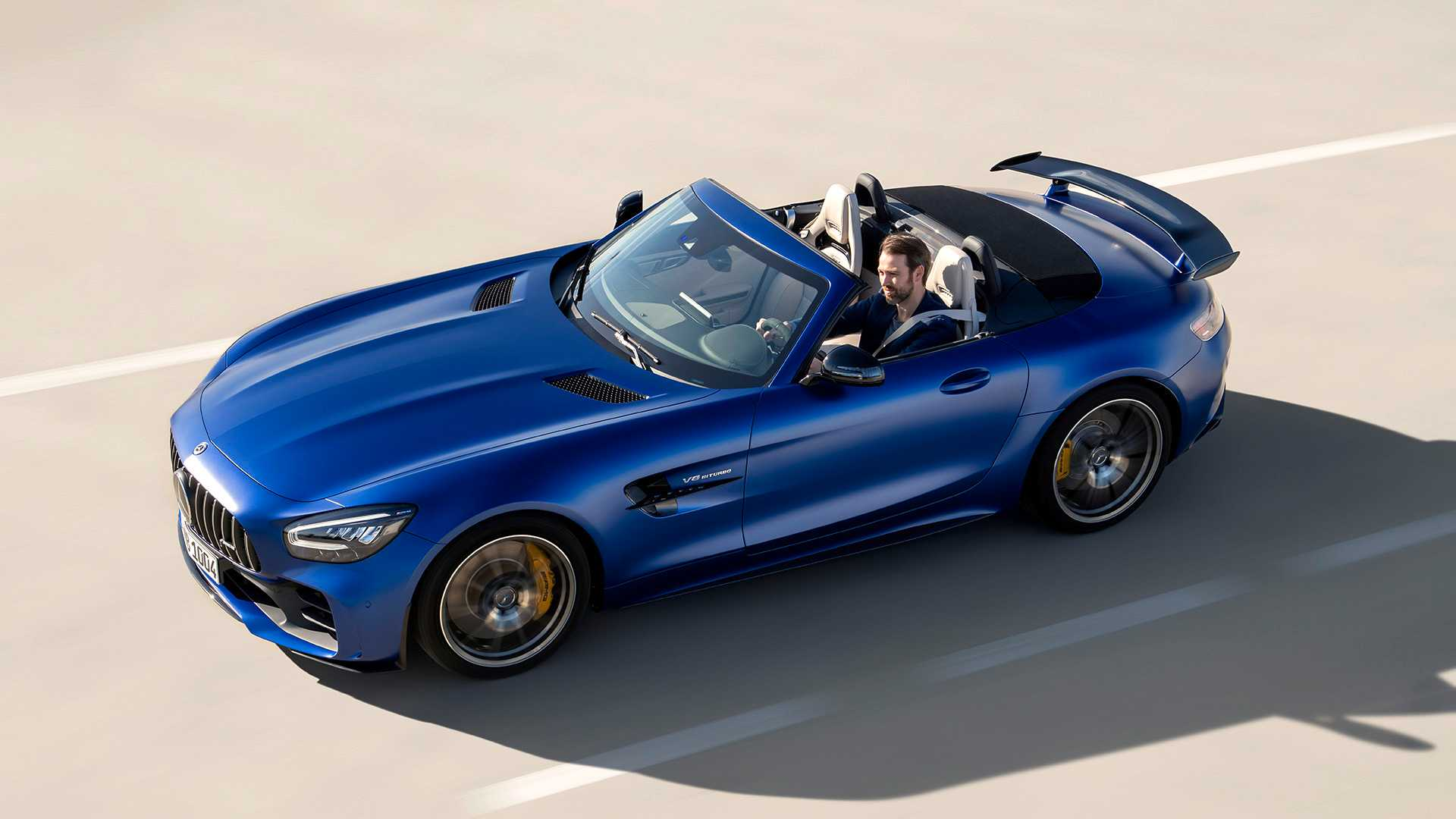 2020 Mercedes-AMG GT R Roadster Front Three-Quarter Wallpapers (5)