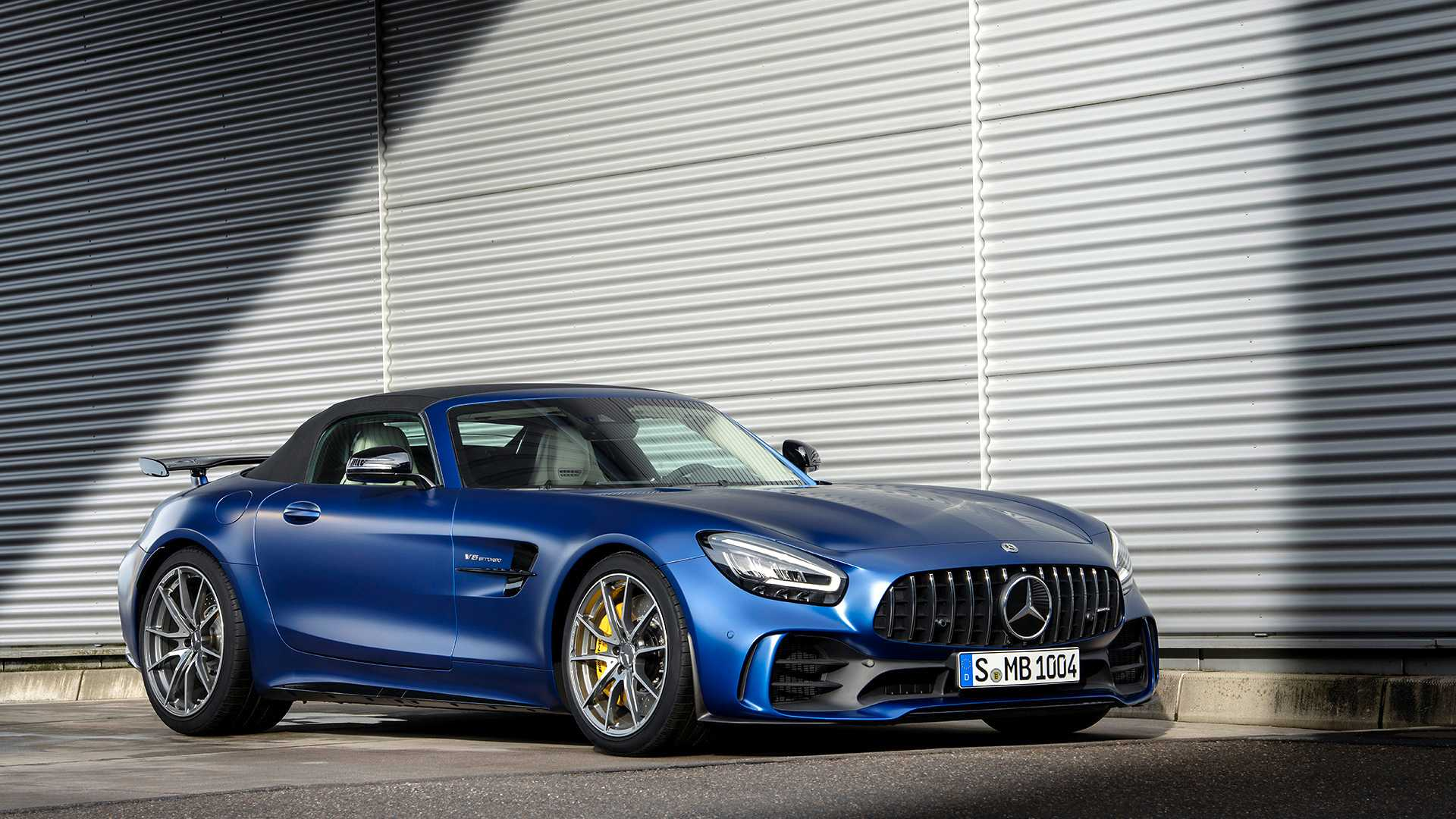 2020 Mercedes-AMG GT R Roadster Front Three-Quarter Wallpapers (10)