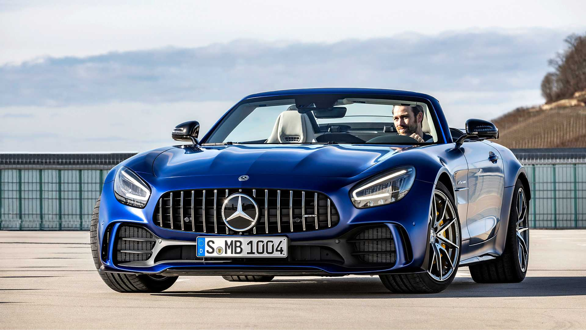 2020 Mercedes-AMG GT R Roadster Front Wallpapers (12)