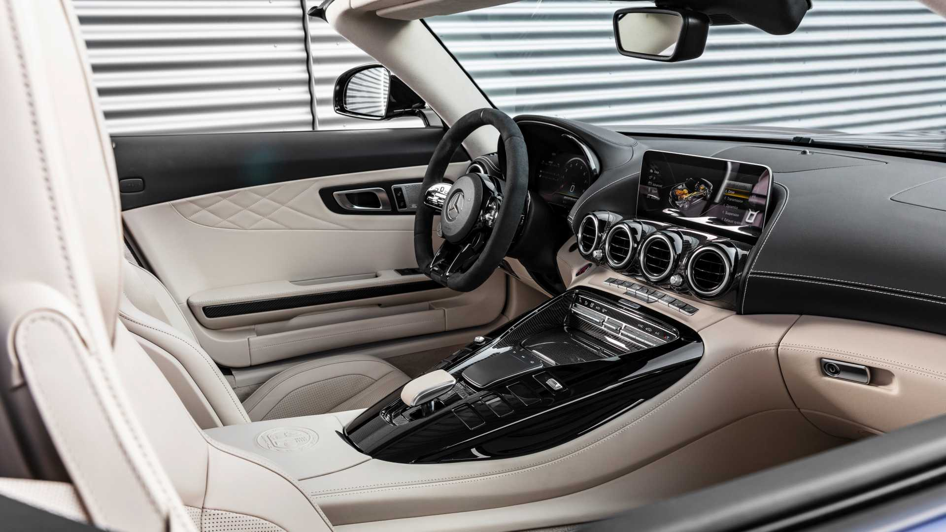 2020 Mercedes Amg Gt R Roadster Interior Wallpapers 149 Newcarcars