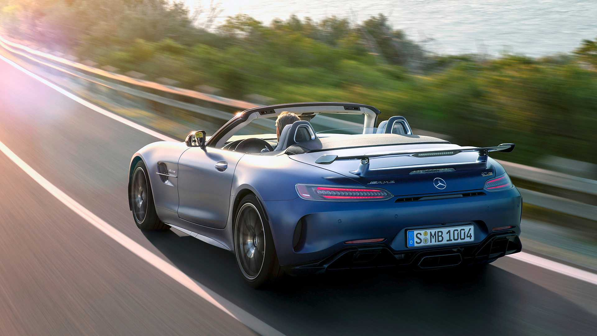 2020 Mercedes-AMG GT R Roadster Rear Wallpapers (7)