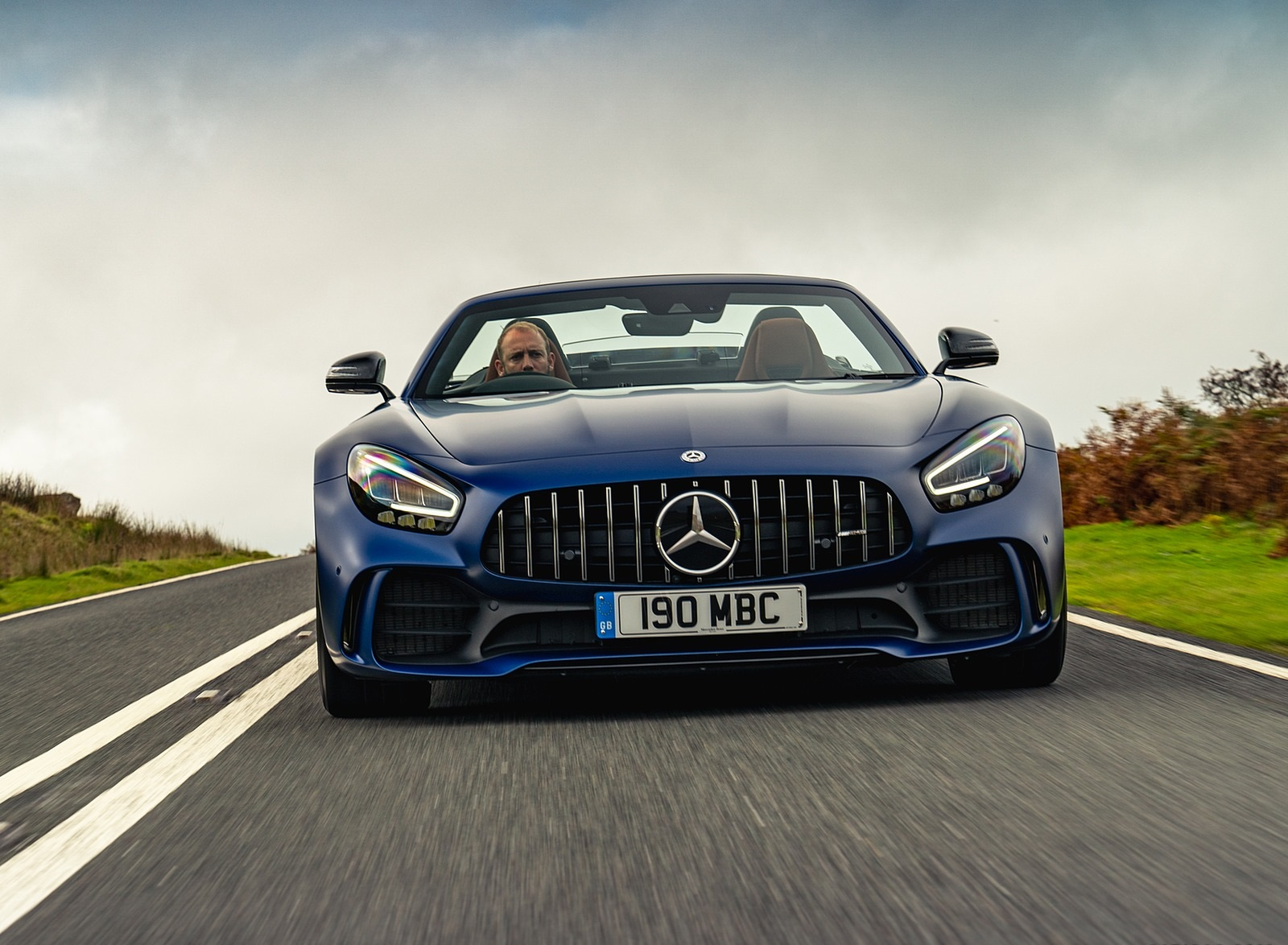 2020 Mercedes-AMG GT R Roadster (UK-Spec) Front Wallpapers (7)