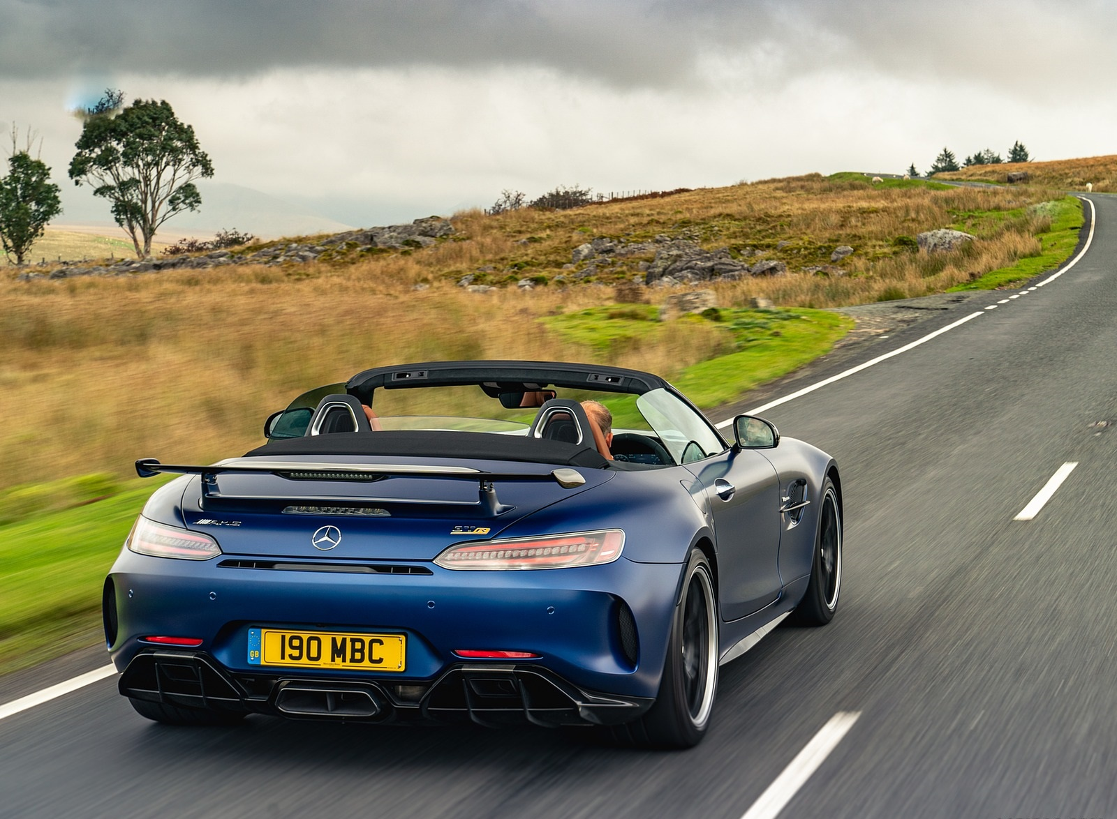 2020 Mercedes-AMG GT R Roadster (UK-Spec) Rear Wallpapers (10)