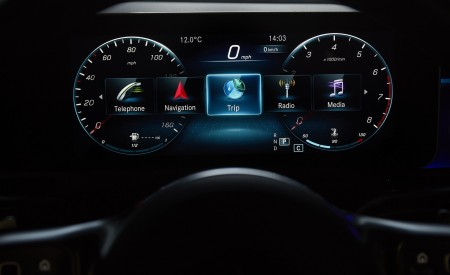 2020 Mercedes-Benz CLA 220 Shooting Brake (UK-Spec) Digital Instrument Cluster Wallpapers 450x275 (46)