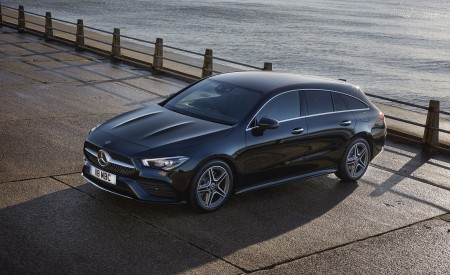 2020 Mercedes-Benz CLA 220 Shooting Brake (UK-Spec) Front Three-Quarter Wallpapers 450x275 (27)