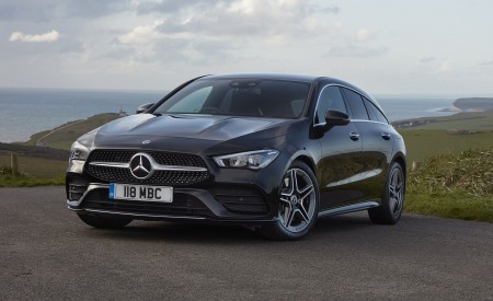 2020 Mercedes-Benz CLA 220 Shooting Brake (UK-Spec) Front Three-Quarter Wallpapers 450x275 (23)
