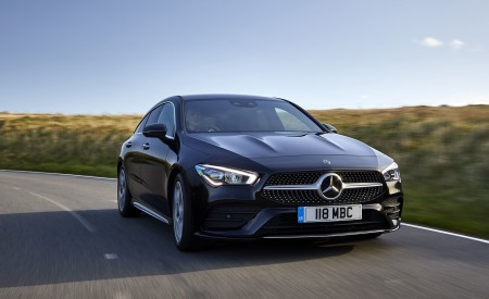 2020 Mercedes-Benz CLA 220 Shooting Brake (UK-Spec) Front Three-Quarter Wallpapers 450x275 (3)