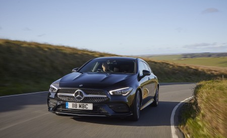 2020 Mercedes-Benz CLA 220 Shooting Brake (UK-Spec) Front Wallpapers 450x275 (9)