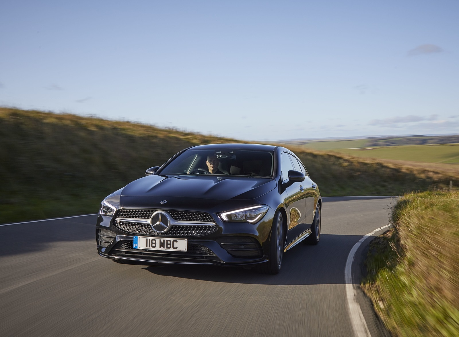 2020 Mercedes-Benz CLA 220 Shooting Brake (UK-Spec) Front Wallpapers (9)