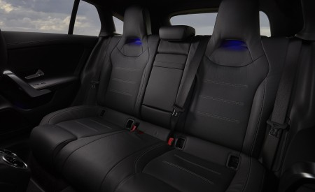2020 Mercedes-Benz CLA 220 Shooting Brake (UK-Spec) Interior Rear Seats Wallpapers 450x275 (57)