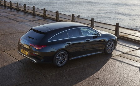 2020 Mercedes-Benz CLA 220 Shooting Brake (UK-Spec) Rear Three-Quarter Wallpapers 450x275 (29)