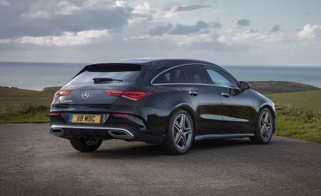 2020 Mercedes-Benz CLA 220 Shooting Brake (UK-Spec) Rear Three-Quarter Wallpapers 450x275 (25)