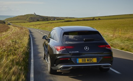 2020 Mercedes-Benz CLA 220 Shooting Brake (UK-Spec) Rear Wallpapers 450x275 (10)