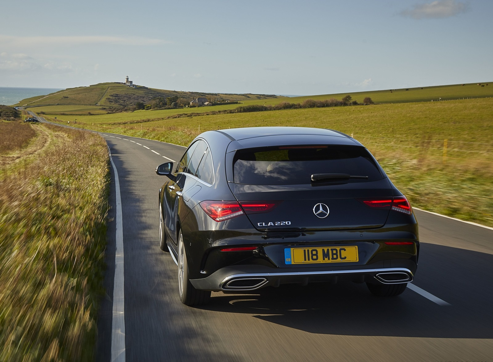 2020 Mercedes-Benz CLA 220 Shooting Brake (UK-Spec) Rear Wallpapers (10)