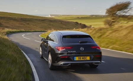 2020 Mercedes-Benz CLA 220 Shooting Brake (UK-Spec) Rear Wallpapers 450x275 (11)