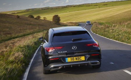 2020 Mercedes-Benz CLA 220 Shooting Brake (UK-Spec) Rear Wallpapers 450x275 (21)