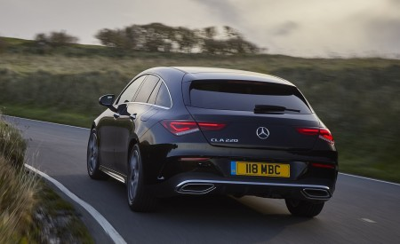 2020 Mercedes-Benz CLA 220 Shooting Brake (UK-Spec) Rear Wallpapers 450x275 (13)