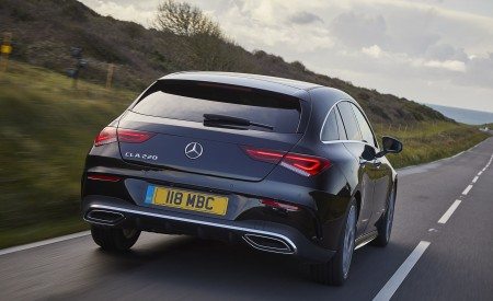 2020 Mercedes-Benz CLA 220 Shooting Brake (UK-Spec) Rear Wallpapers 450x275 (14)