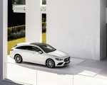 2020 Mercedes-Benz CLA Shooting Brake AMG-Line (Color: Digital White) Front Three-Quarter Wallpapers 150x120 (13)