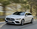 2020 Mercedes-Benz CLA Shooting Brake AMG-Line (Color: Digital White) Front Three-Quarter Wallpaper 150x120 (2)