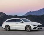 2020 Mercedes-Benz CLA Shooting Brake AMG-Line (Color: Digital White) Front Three-Quarter Wallpaper 150x120 (12)