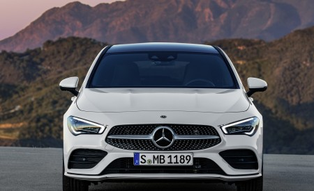 2020 Mercedes-Benz CLA Shooting Brake AMG-Line (Color: Digital White) Front Wallpapers 450x275 (73)
