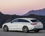2020 Mercedes-Benz CLA Shooting Brake AMG-Line (Color: Digital White) Rear Three-Quarter Wallpaper 150x120 (11)