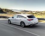 2020 Mercedes-Benz CLA Shooting Brake AMG-Line (Color: Digital White) Rear Three-Quarter Wallpapers 150x120 (5)