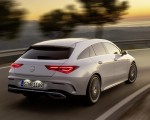 2020 Mercedes-Benz CLA Shooting Brake AMG-Line (Color: Digital White) Rear Three-Quarter Wallpaper 150x120 (6)