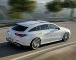 2020 Mercedes-Benz CLA Shooting Brake AMG-Line (Color: Digital White) Rear Three-Quarter Wallpaper 150x120 (7)