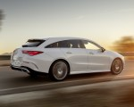 2020 Mercedes-Benz CLA Shooting Brake AMG-Line (Color: Digital White) Rear Three-Quarter Wallpaper 150x120 (8)