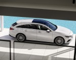 2020 Mercedes-Benz CLA Shooting Brake AMG-Line (Color: Digital White) Side Wallpaper 150x120 (19)