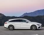 2020 Mercedes-Benz CLA Shooting Brake AMG-Line (Color: Digital White) Side Wallpapers 150x120 (10)