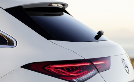 2020 Mercedes-Benz CLA Shooting Brake AMG-Line (Color: Digital White) Tail Light Wallpapers 450x275 (79)